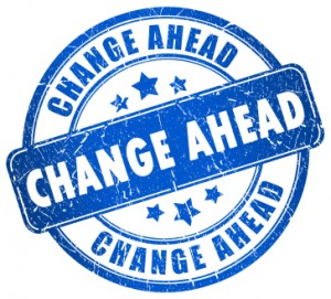 Change ahead stamp