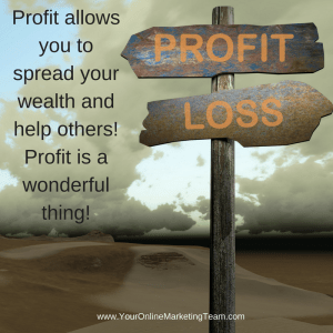 accelerate profits