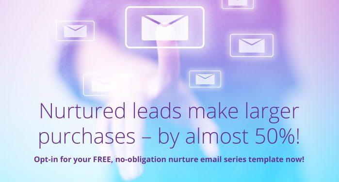 free email nurture template