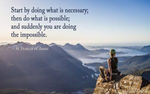 do what's possible